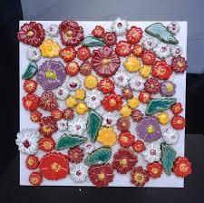 craft flower porcelain mosaic tiles backsplash pcmt072