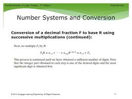 Unit 1 Introduction Number Systems and Conversion ppt