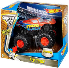 Hot Wheels Monster Jam 25 Rev Tredz Spider-Man 143 Vehicle Mattel ... Hot Wheelsreg Monster Jamreg Mighty Minis Pack Assorted Target Wheels Jam Maximum Destruction Battle Trackset Shop Brick Wall Breakdown Fireflybuyscom Amazoncom 124 New Deco 1 Toys Games 164 Scale Vehicle Big W Higher Ecucation Walmartcom Grave Digger Buy Jurassic Attack Diecast Truck 2014 Rap Twin Toy Dragon 14 Edge Glow 2017 Case D Grana Team Lebdcom