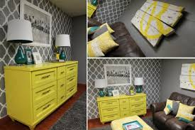 A DIY Stenciled Accent Wall Using The Rabat Allover Stencil Pattern