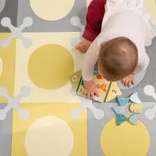 Skip Hop Floor Tiles Canada by Skip Hop Playspot Interlocking Foam Floor Tiles Grey Gold