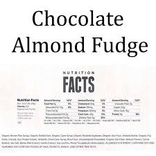 Clif Bars Chocolate Almond Fudge Nutrition Facts ArmourUP Asia Singapore