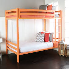 Twin Over Twin Bunk Beds With Trundle by Bentley Twin Over Twin Metal Bunk Bed Coral By Walker Edison