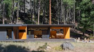 100 Cabins At Mazama Village Prentiss Balance Wickline Selects Modest Materials For Lot 6