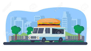 Mobile Shop For Fast Food Sale. Burger Truck In Park. Stock Photo ... Asian Food Trucks Trailers For Sale Ccession Nation Stinky Buns Truck Tampa Bay Sold 2014 Freightliner Diesel 18ft 119000 Prestige For We Build And Customize Vans Trailers Mobile Flooring Ford Kitchen Chameleon Ccessions Trailer 1989 White 16ft Youtube Fast Caravans Canada Buy Custom Toronto Gastrohub