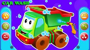 100 Dump Trucks Videos Truck Car Wash Street Vehicle Cartoons For Kids
