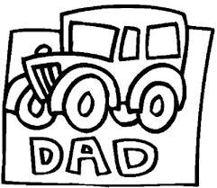 Dad 8211 Classic Car Coloring Page