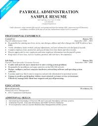 Payroll Resume Sample Unforgettable Specialist Regarding Manager Free Samples Clerk