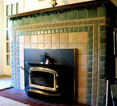 Batchelder Tile Fireplace Surround by Fireplace Featuring Motawi Medieval Animals And Celtic Border