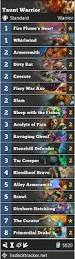 Hearthstone Taunt Deck 2017 by Warrior Hearthstone Standard Deck Guide The Best Current Overall