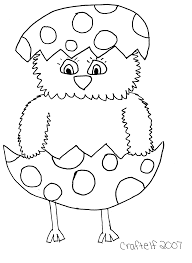 Easter Coloring Pages Throughout Color