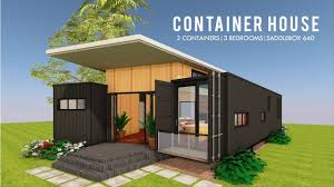 100 Containers House Designs Modern Container Design Floor Plans SADDLEBOX 640