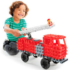 100 Little Tykes Fire Truck Waffle Blocks Tikes