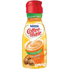 Nestle Coffee Mate Hazelnut Sugar Free Liquid Creamer