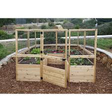 Greenland Gardener Raised Bed Garden Kit by Raised Bed Garden Kit Costco Home Outdoor Decoration