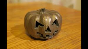 Preserve A Carved Pumpkin And Prevent Mold by Bronze Halloween Pumpkin A Simple Mould Making And Casting