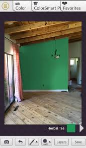 Remodelaholic Free Diy Mobile Apps To Test Paint Colors Using Harmony For Android Teenage Room