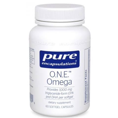 Pure Encapsulations One Omega Dietary Supplements - 60ct
