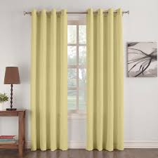 Lichtenberg Curtains No 918 by No 918 Donovan Crushed Microfiber Solid Curtain Panel Free
