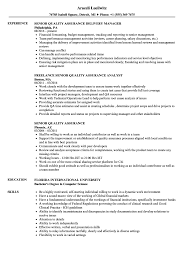 Senior Quality Assurance Resume Samples   Velvet Jobs Quality Assurance Resume New Fresh Examples Rumes Ecologist Assurance Manager Sample From Table To Samples Analyst Templates Awesome For Call Center Template Makgthepointco Beautiful Gallery Qa Automation Engineer Resume 25 Unique Unitscardcom Sakuranbogumicom 13 Quality Cover Letter Samples Ldownatthealbanycom Within