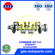 100 Gas Or Diesel Truck ISF 28 Crankshaft 5264231 CUMMINS DIESEL TRUCK