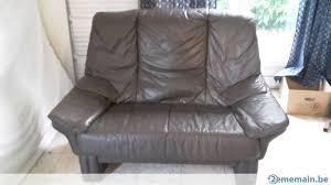 donner canapé a donner canapé en cuir brun gratuit 2ememain be