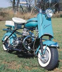 Cushman Eagles Quotbig Bikequot Mechanical Features Included Telescopic Front Forks And A Hand