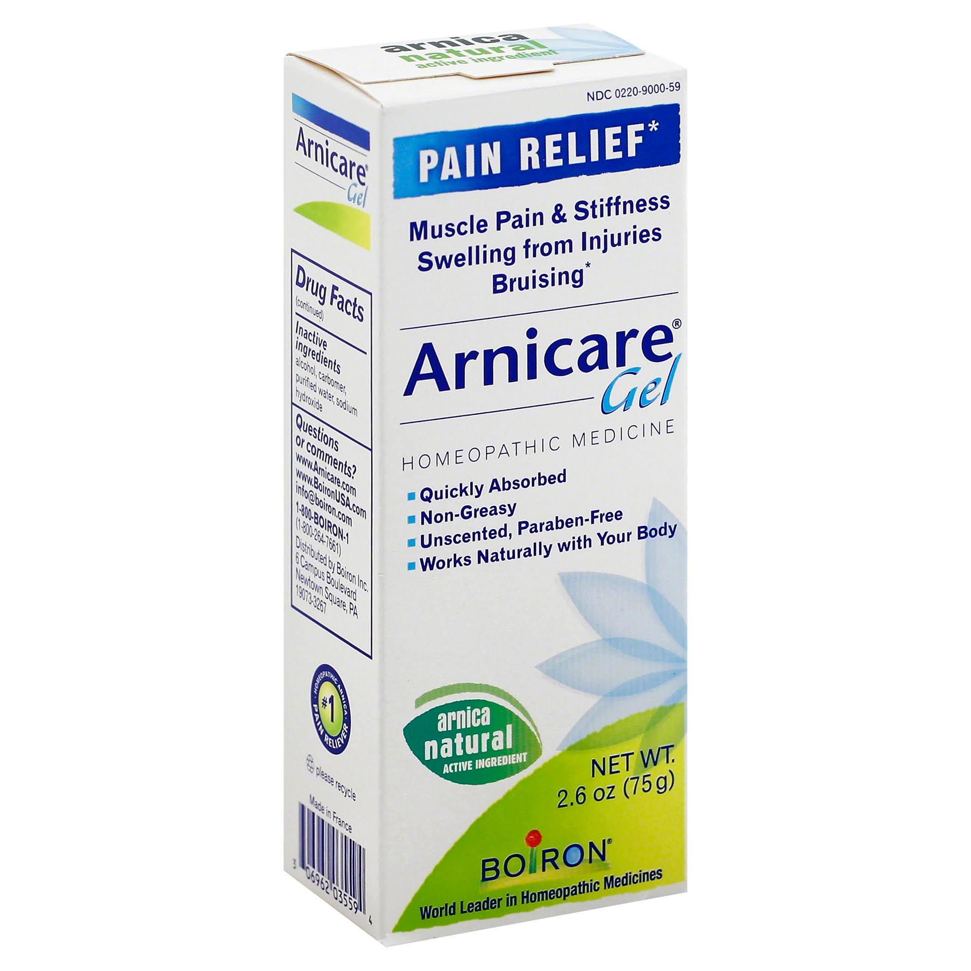 Boiron Arnicare, Pain Relief, Gel - 2.6 oz