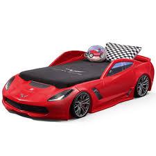 Bedroom: Little Tikes Sports Car Twin Bed | Car Mattress Walmart ...