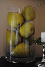 Fruit In Transparent Vases Kitchen NookKitchen DecorVasesFruit