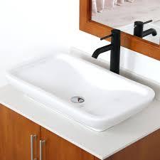 Install Overmount Bathroom Sink by Bathroom Sink Overmount Bathroom Sink Modern Inch Grey Oak