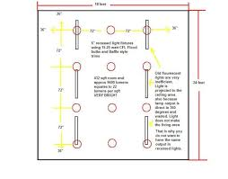 recessed lighting layout calculator home decors and interior
