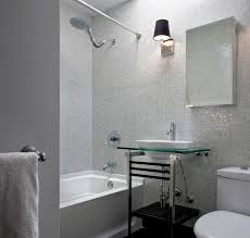 white glass mosaic tile in bath white glass mosaic tile