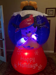 Gemmy Inflatable Halloween Train by Image Gemmy Prototype Christmas Happy Holidays Penguin And Fish