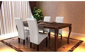lingjiushopping 4 stück stühle für esszimmer weiße farbe