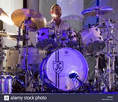 Smashing Pumpkins 2015 Tour Band Members by Chicago Illinois Usa 7th Aug 2015 Drummer Jimmy Chamberlin Of