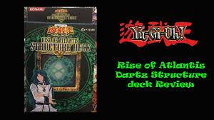 Marik Structure Deck Ebay by Insane Yugioh Rise Of Atlantis Structure Deck Opening Epic Dartz