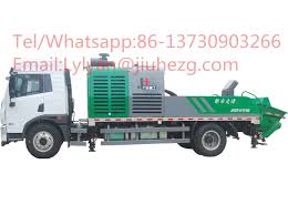 100 Easy Truck Sales Jh Mounted Pump Excellent Quality Maintenance China Hot