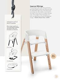 Stokke High Chair Tray by Stokke Steps Chair Featured In Wired Magazine Kids Baby Design