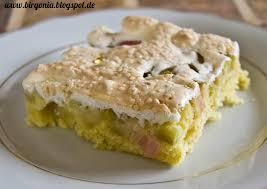 birgonia rhabarber baiser kuchen
