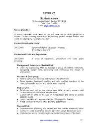 Cumbriaacuk Careers 15 Sample CV Student Nurse 10