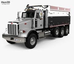 Peterbilt 367 Dump Truck 2007 3D Model - Hum3D