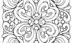 Coloring Pages Abstract Designs Design For Teenagers Difficult Patterns
