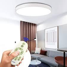 coosnug 60w modern led deckenleuchte dimmbar weiß rund deckenle flur wohnzimmer le schlafzimmer küche energie sparen licht wandleuchte
