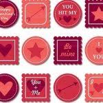 13 Seriously Scrapbook Designs Printable Stickers Love Within