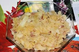 comment cuisiner le choux blanc blanc fondu aux lardons