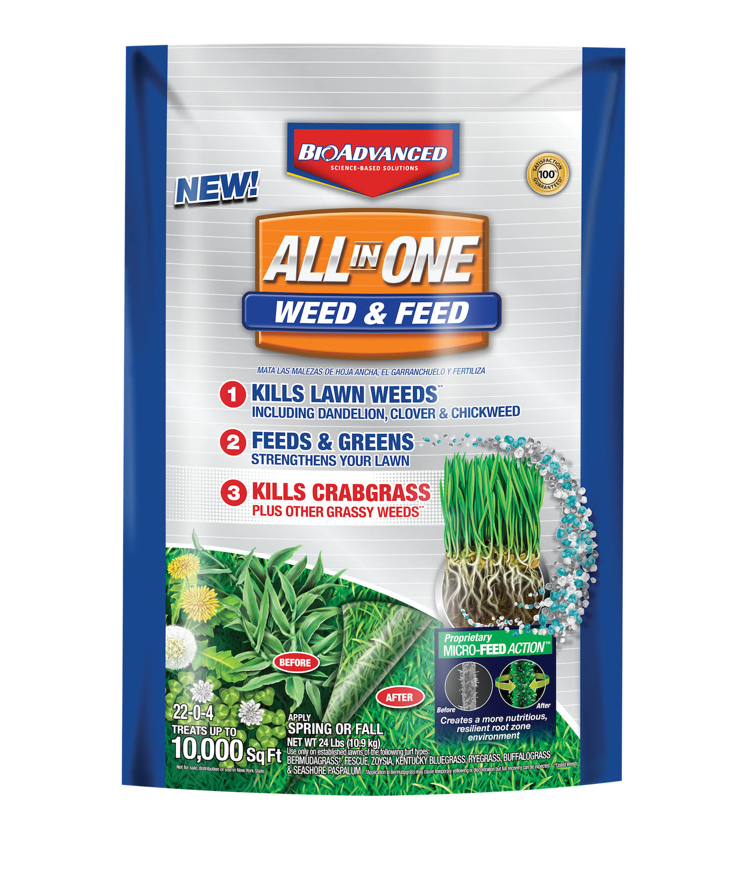 Bayer Advanced All In One Weed & Feed - 12lb