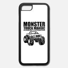 100 Monster Truck Maniac SUPERIORS MONSTER TRUCK MANIAC Shirt Motiv IPhone 7 8 Hlle