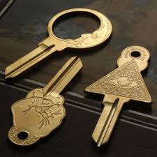 My House Key Is Shaped Like A Revolver And I Am Fan Of Oddly Keys In General So When Saw These Cool Blanks By NYC Jewelry Brand Erica