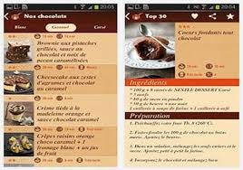 télécharger nestlé dessert android play
